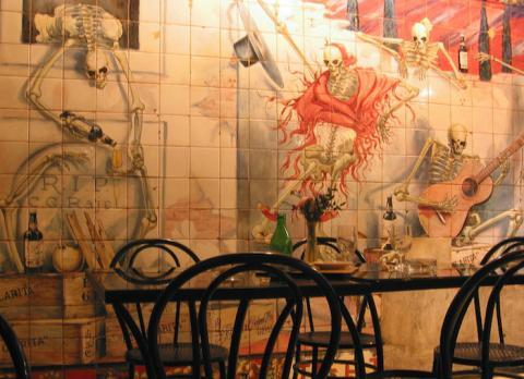 Azulejos de la Taberna Los Gabrieles