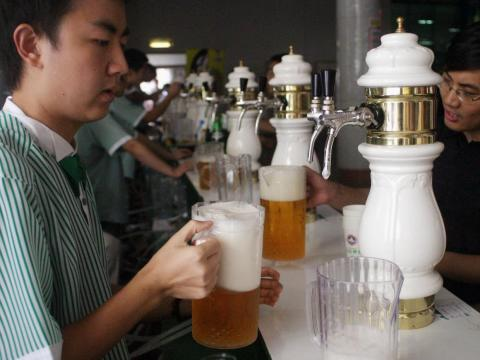 Beer has existed in China for about 5,000 years.