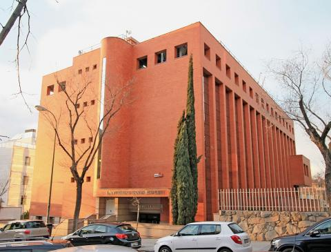 Biblioteca de la Universidad San Pablo CEU de Madrid
