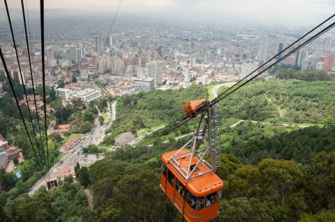 Bogotá, capital de Colombia