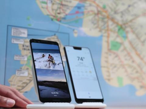 Both the Pixel 3 and the iPhone XR are water-resistant and support wireless charging. Neither phone has a headphone jack.