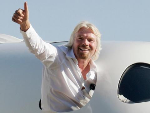 Branson said in May 2018 that Virgin Galactic was two or three test flights away from taking passengers to space.