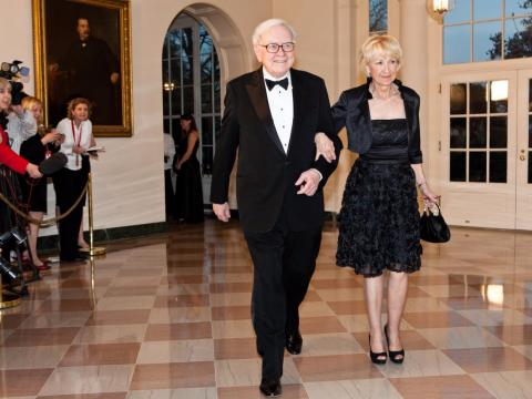 Buffett once spent $100 to take a Dale Carnegie course on public speaking. It helped him propose to his wife, he said.