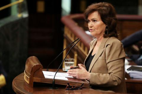 Carmen Calvo, ministra de Igualdad