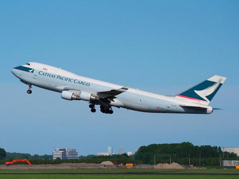 cathay pacific avion