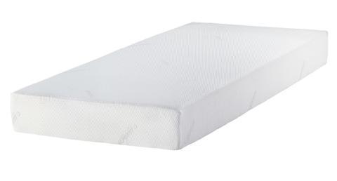 Un colchón Tempur monocolor