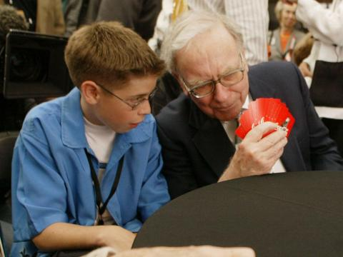 Compared to other CEOs, Buffett doesn't spend a whole lot on his hobbies. He plays bridge for about 12 hours a week.