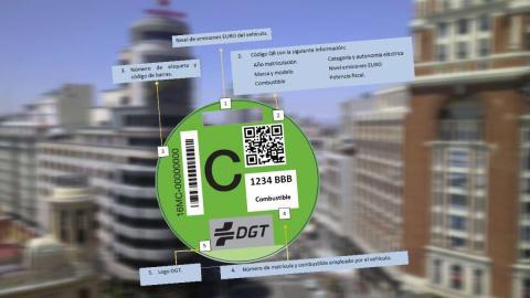 Distintivo medioamniental DGT