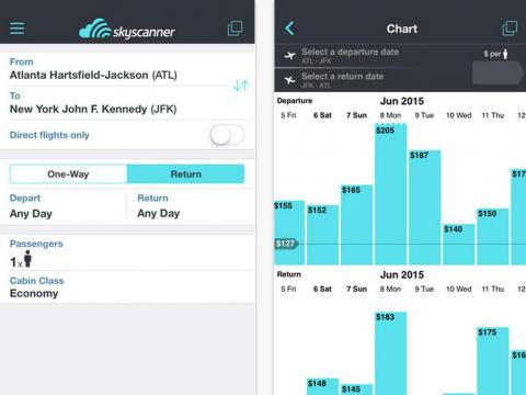 Ditch Google Flights for Skyscanner when you're looking for cheap airfare.