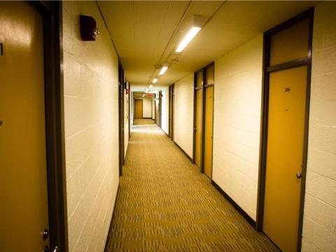 Each dorm has 20 students ...