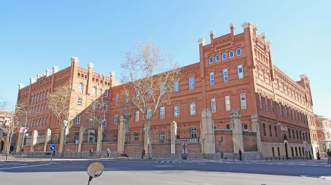 Fachada de ICADE, en Madrid