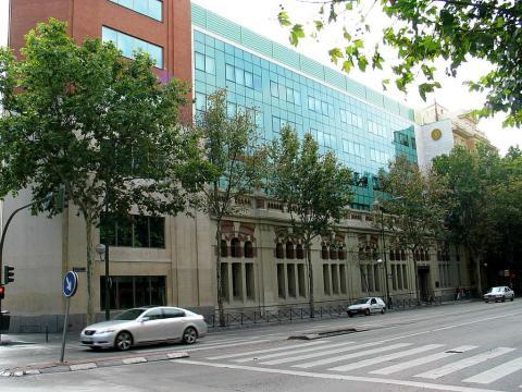 Fachada de ICAI, en Madrid