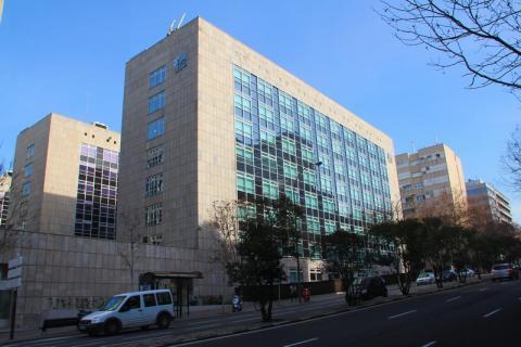 Fachada del IE Business School, en Madrid