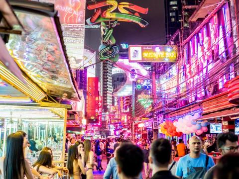 """Fans of the """"Hangover"""" movies can even do a tour of every site filmed in the second movie, including the bustling Soi Cowboy street lined with go-go bars."""