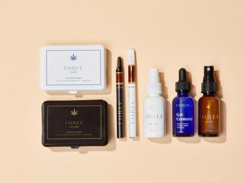 Foria's line of products.