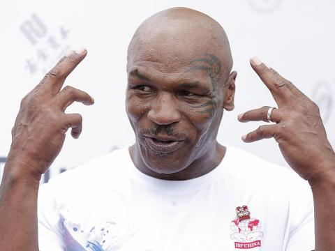 Former professional boxer Mike Tyson once bought a 24-karat gold bathtub for $2.2 million.