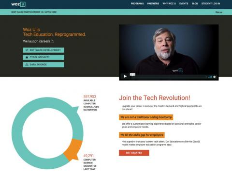 Former students say that Apple cofounder Steve Wozniak's $13,200 coding bootcamp is 'broken' and sometimes links to Wikipedia