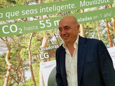 Francisco Ramírez, responsable de B2B en LG