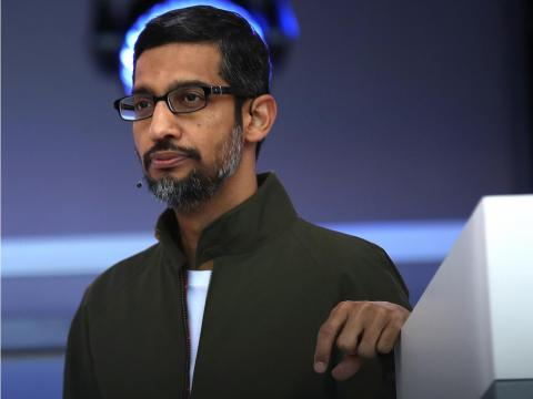 Sundar Pichai said he supports the walkout