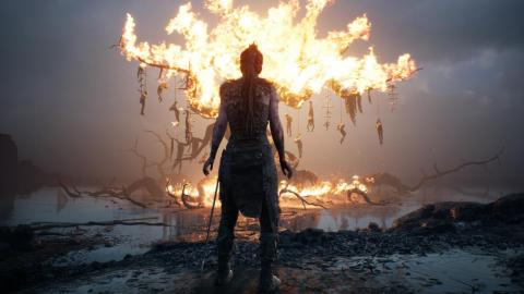 """""""Hellblade: Senua's Sacrifice,"""" a hack-and-slash horror game, is set to release on the Switch in April. The game received critical acclaim when it was released for PC and PlayStation 4 in 2017."""
