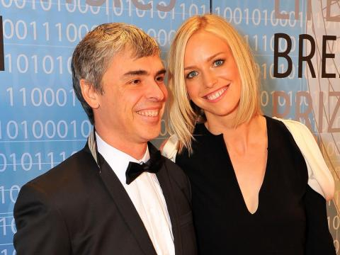 Larry Page y Lucy Page.
