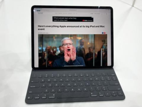 I got to try out the new iPad Pro, and it's clear that it's Apple's biggest update to the iPad lineup in years