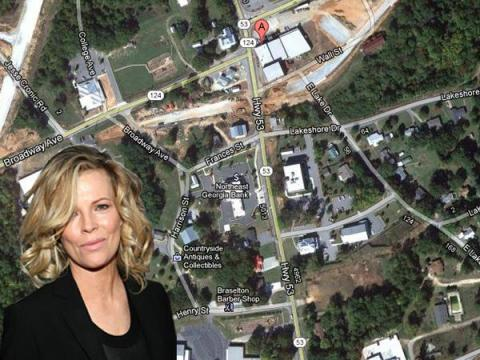 If an island isn't your thing, you can always buy a town, like Kim Basinger did in 1989. With other investors, she bought 1,751 acres of the 2,000-acre town of Braselton, Georgia, for $20 million. She wanted to turn the town's