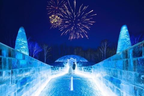 Si estás buscando un real paraíso invernal, Hoshino Resort Tomamu es el lugar.