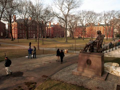 It turns out that going to Harvard looks a lot like attending any other US college.