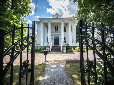 Es una de las propiedades más antiguas en el país
