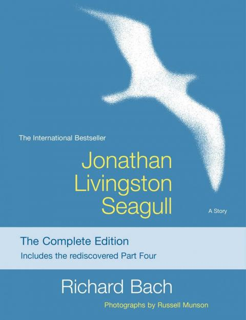 """Jonathan Livingston Seagull"" by Richard Bach"