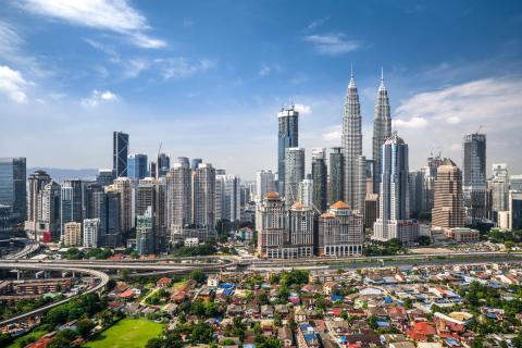 Kuala Lumpur, capital de Malasia
