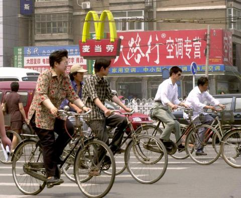 Last year, McDonald's announced plans to double its presence in China within the next five years.