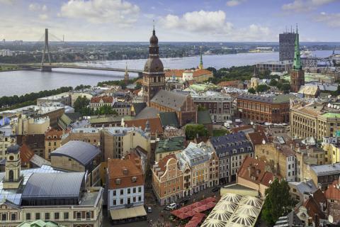 Letonia. Riga.
