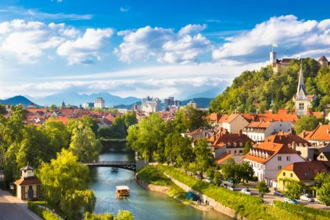 Liubliana, Eslovenia.