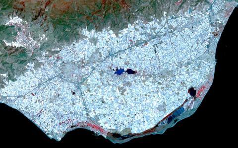 Mar de plastico de Almería