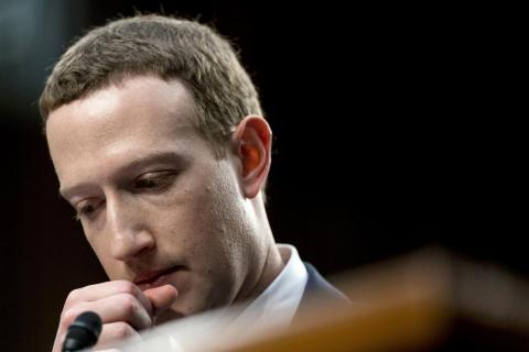 Mark Zuckerberg, CEO of Facebook, which revealed Friday that a hacking attack compromised the personal data of millions of its users.