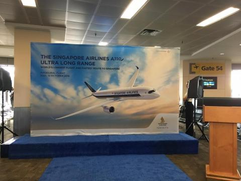 On October 12, Singapore Airlines relaunched Flight SQ21, its nonstop flight from Newark Liberty International Airport to Changi Airport in Singapore.