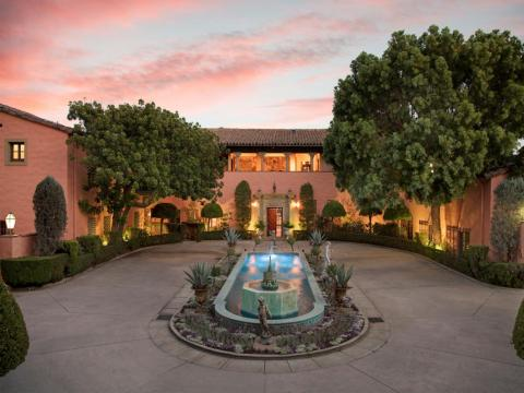 The Mediterranean-inspired mansion in Los Angeles is asking $135 million.