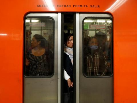 The metro stations in Mexico City are some of the most crowded transportation systems globally, ranking as the eighth busiest metro in the world and the second-largest rapid transit system in North America.