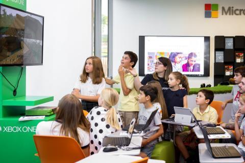 Microsoft EduLab - Aula del futuro