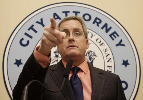 Months later, the city attorney, Dennis Herrera, filed a similar suit.