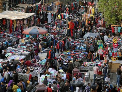 More than 20 million people call Cairo, Egypt, home. With high tourist rates, the city is teeming with people.