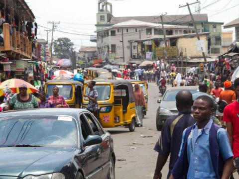 Nigeria is the most populated country in Africa with more than 181 million people. Lagos is the largest city in Nigeria and is home to 13.4 million residents.