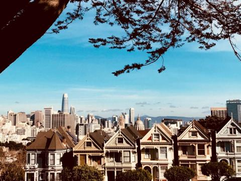 Then she travels to Palo Alto. Edwards has two work locations — her office is in San Francisco, but she works with many venture-capital firms in Palo Alto. She takes the Caltrain between the two.