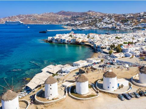 One of the places I was most excited to visit was the Greek isle of Mykonos, known as a party capital and vacation hot spot for billionaires.