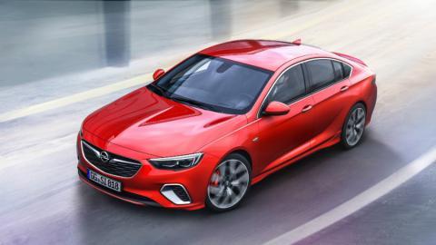 El Opel Insignia GSi