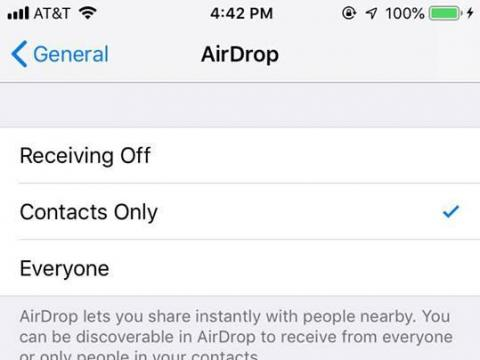 People are using Apple's AirDrop feature to send gross, explicit pictures to strangers — but there's a simple fix to protect yourself