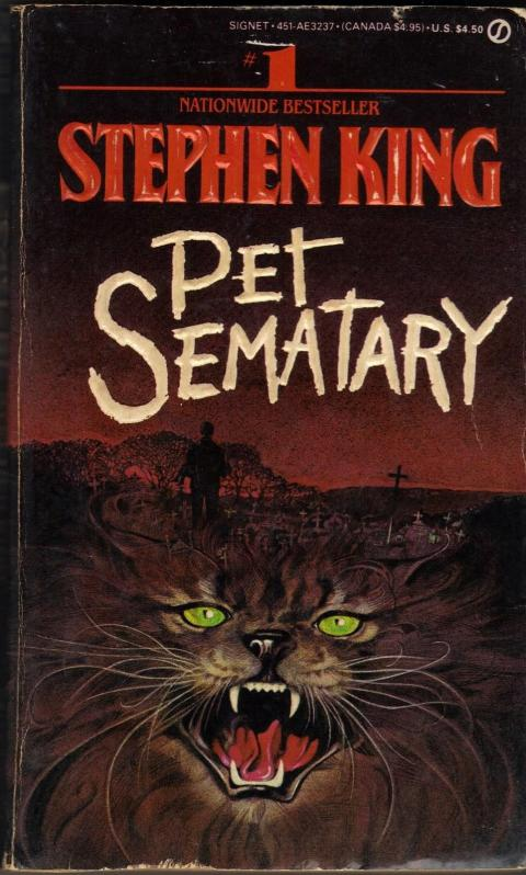 """Pet Sematary"" by Stephen King"