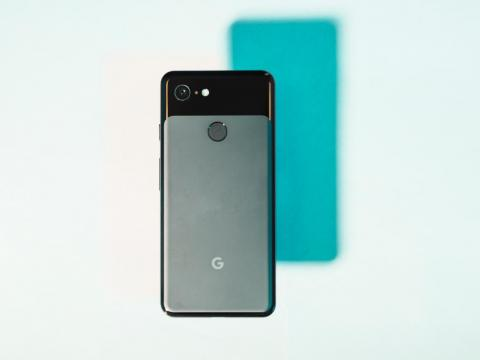 The Pixel 3 has a fingerprint sensor, while the iPhone XR relies on Face ID to unlock your phone.